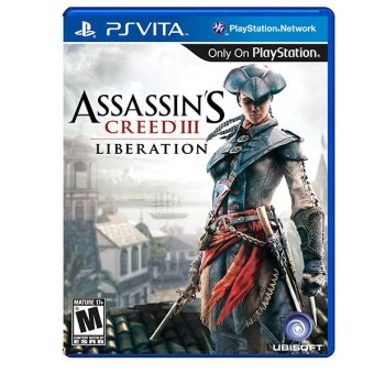 Harga Ubisoft Assasins III Creed Liberation for Game PS Vita