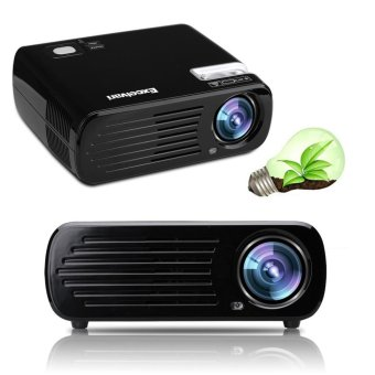 Harga Excelvan Mini Led Projector Bluetooth+ Wifi+ Android 4.4.2 Rom Ram 1g+8g - intl