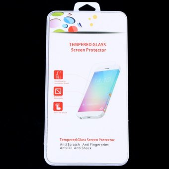 Harga Front Screen Tempered Glass with Rear Plastic Film Protector for PS Vita 2000