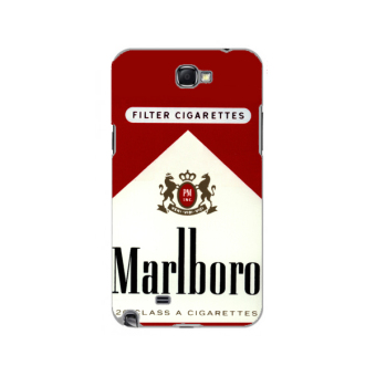 Harga Planet Cases Marlboro Red Hard Plastic Case for Samsung Note 2