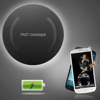 Qi Wireless Fast Charger Quick Charging Adapter for Samsung Galaxy S6 NOTE5 S7 S8 - intl Price Philippines