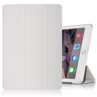 For Apple iPad Pro 10.5 Case - Ultra Lightweight Slim Smart Cover Case for Apple iPad Pro 10.5 inch 2017 Tablet(White) - intl Price Philippines