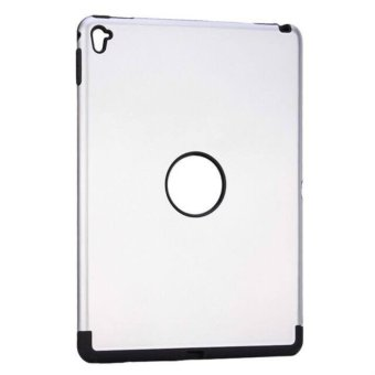 Harga Shockproof Armor TPU/PC Case for Apple iPad Pro 9.7 - White