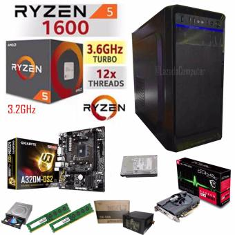 R.E.D Gaming WiFi CPU, AMD RYZEN 5 1600 6-Core 3.2 GHz AM4 65W. Dragon CPU Price Philippines