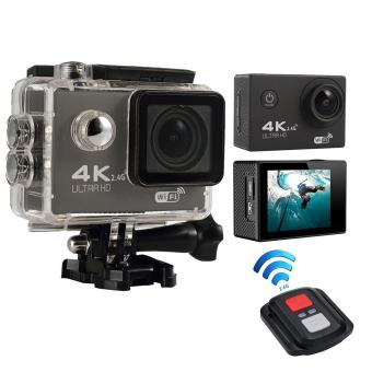 Leegoal 4K HD Wifi Action Camera 2.0 Inch 170 Degree Wide Angle Lens Action Camera WIFI 4k Waterproof Sports Action Camera, Black - intl Price Philippines