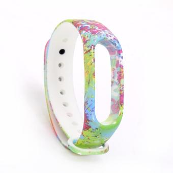 Colourful Replacement Bands Wristband Strap for Xiaomi Mi Band 2 Band Smart Bracelet Accessories(No Tracker) - intl Price Philippines