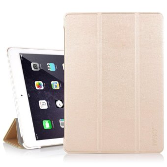 For Apple iPad Pro 10.5 Case - Ultra Lightweight Slim Smart Cover Case for Apple iPad Pro 10.5 inch 2017 Tablet(Gold) - intl Price Philippines