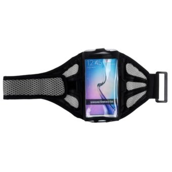 Jogging Sports GYM Armband Case for Samsung Galaxy S6 Edge S6 S5 S4 (Silver) Price Philippines