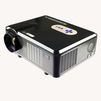 Harga HOT Excelvan CL720D Projector 3000 Lumens HD Home Theater 720P Support 1080P Led Projector HDMI / VGA/ USB/ AV /DTV Projector - intl