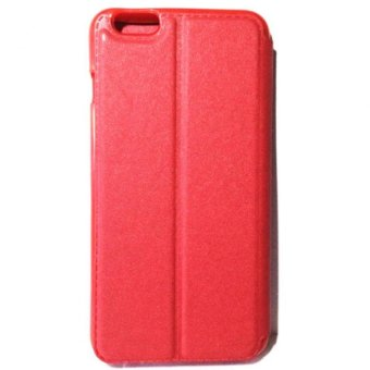 LC Beach Profile S View Flip Cover Leather Case for iPhone 6/6s(Red) Price Philippines