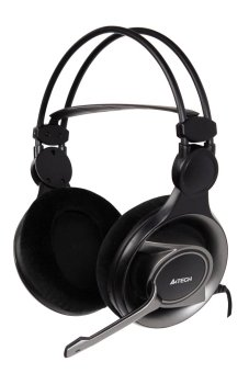A4Tech HS-100 Stereo Gaming Headset (Black) Price Philippines