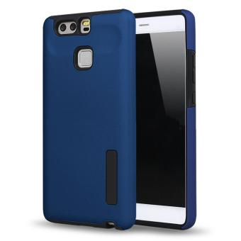 Harga Incipio TPU Back Case Cover , hardshell case with impact absorbing core for HUAWEI P9 (DARK BLUE)