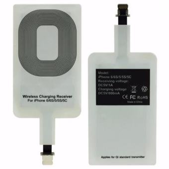Harga Qi Wireless Receiver iPhone Lighting Type Port