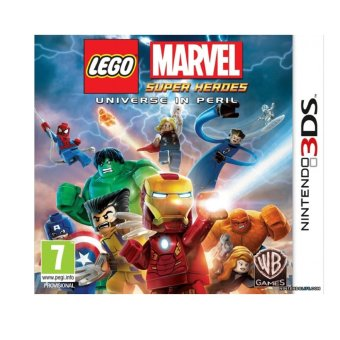 Harga Lego Marvel Super Heroes Universe in Peril Game for Nintendo 3DS