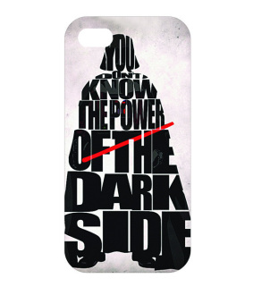 Harga Planet Cases Darth Vader Hard Plastic Case for iPhone SE/5S/5