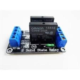 2 Channel 5V DC Relay Module Solid State High Level OMRON SSR AVR DSP for Arduino Price Philippines