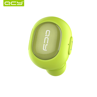 QCY Q26 Mini V4.1 Wireless Bluetooth Car Headphone Hands Free Headset Universal In-Ear Earbud Earphone with Microphone – Green Price Philippines