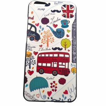 Harga My Colors White London Design Embossed TPU Case for Vivo Y67 / Vivo V5