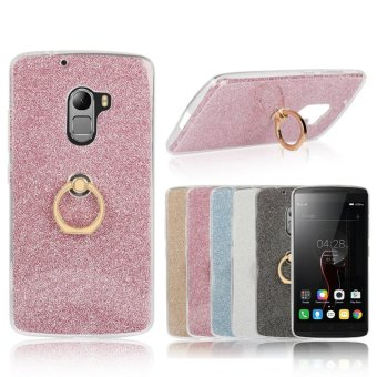 3-in-1 Multifunction Metal Buckle Ring TPU Phone Cover Case for Lenovo K4 Note / Vibe X3 Lite / A7010 - intl Price Philippines