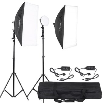 Harga Andoer LED Photography Studio Lighting Light Kit