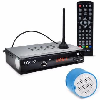 CORDYA TB-1 Home Entertainment TV Channel Box with Y86 Bluetooth Mini Speaker (Color May Vary) Price Philippines