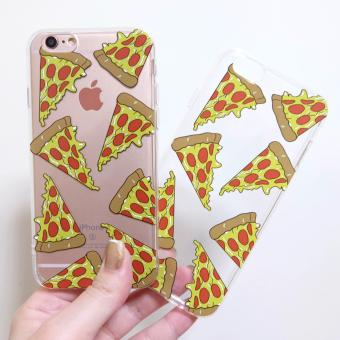 TPU Pizza Soft Case Iphone 6plus/6s plus(Clear) Price Philippines