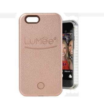 Harga LED Lumee Selfie Case For Apple iPhone 5s (Rose Gold)