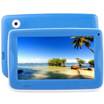 Harga Astar Kids Education Tablet 7'0 Inch Android 5.1 A33 Quad Core with Silicone (Blue)