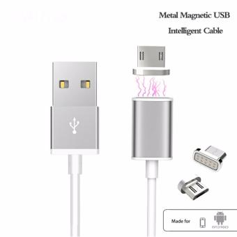 Harga Magnetic Cable Nylon Braided Fast Charging Cable Micro For Samsung Oppo Sony Asus Hawei
