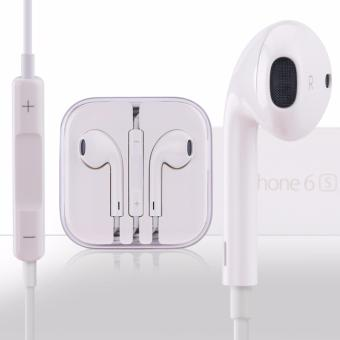 IDEAL1 Earpods / Headset With Volume Controller and Mic for Apple / iPod Touch / iPad / iPad Mini (White) Price Philippines
