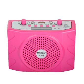 Bosca BS A-868 Professional Teach Microphone (Pink) Price Philippines