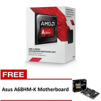 AMD A8-7600 Processor with Free Asus A68HM-K Motherboard Price Philippines