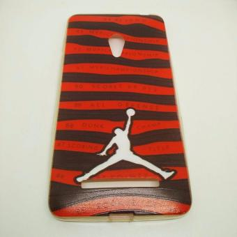 Printed JORDAN jelly Case ZENFONE 5 (Red) Price Philippines