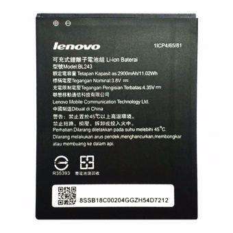 LENOVO BL243 2900mAh BATTERY FOR Lenovo K3 Note (Original / Authentic) Price Philippines