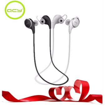 QCY QY8 Couple Wireless Headset with HD Microphone (White and Black) Price Philippines
