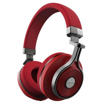 Harga Bluedio T3 (Turbine 3rd) Extra Bass Wireless Bluetooth 4.1 Stereo Headphones(Red)