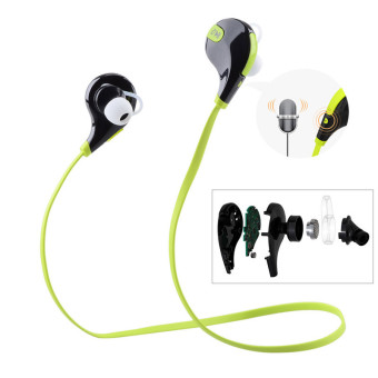 QCY Q-Y7 Noise-Isolation Wireless Bluetooth Headset (Green) Price Philippines