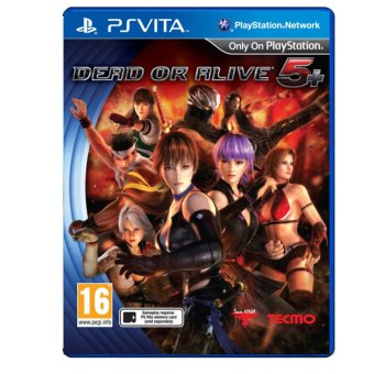 Harga Dead or Alive 5 Plus for PS Vita