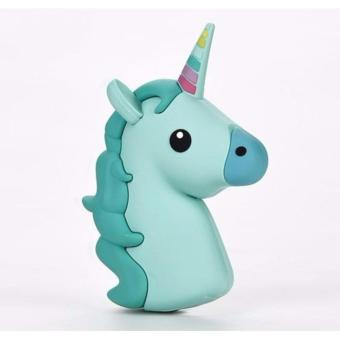 ZMB Cute Unicorn Powerbank 8800mAh (Turquoise Unicorn) Price Philippines