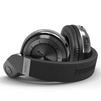 Harga Fashion Bluedio T2 Wireless Bluetooth 4.1 Stereo Headphone (Color:Black) - intl