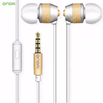 Onda AD30 High-Fidelity Fashion Headset Smooth Sound (White/Gold) Price Philippines