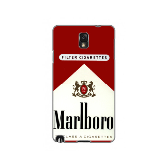 Harga Planet Cases Marlboro Red Hard Plastic Case for Samsung Note 3