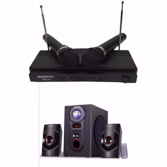 Xtreme XM-368A Professional Wireless Microphone+Xtreme XP-2000 2.1-Channel Sub Woofer Bluetooth Speaker Price Philippines