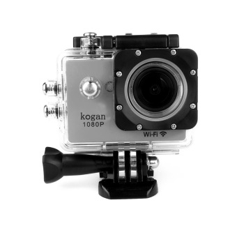 LHR Kogan W8 1080p HD DV 12MP WiFi Sports Action Camera (Silver) Price Philippines