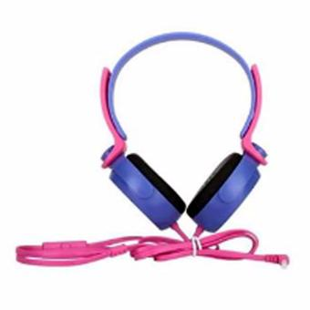 EP-17 Headphone Extra Bass Stereo HeadHones (Pink/Violet) Price Philippines