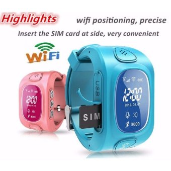 2Cool Children Smart Watch with Phone Call Anti Lose Kids GPS Watch - intl Price Philippines