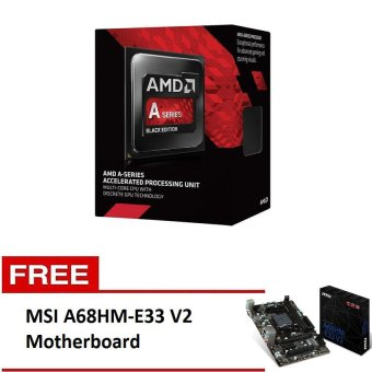 Amd A6-6400 Processor with Free MSI A68HM-E33 V2 Motherboard Price Philippines