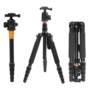 Andoer Foldable Portable Extendable Aluminium Alloy Tripod Unipod Monopod with Ball Head - Intl Price Philippines