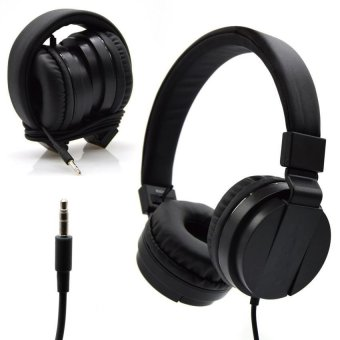 LC excellence Extra Bass XB337 Headphones with Mic for iPhone and Smartphone (Black) Price Philippines