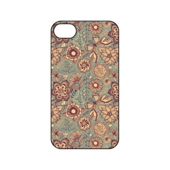 Harga Vintage Flowers Hard Case for iPhone 4/4s